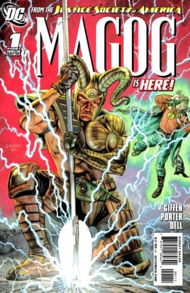 Magog #1 comic books - cover scans photos Magog #1 comic books - covers, picture gallery