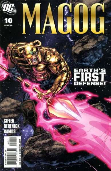 Magog #10 Comic Books - Covers, Scans, Photos  in Magog Comic Books - Covers, Scans, Gallery