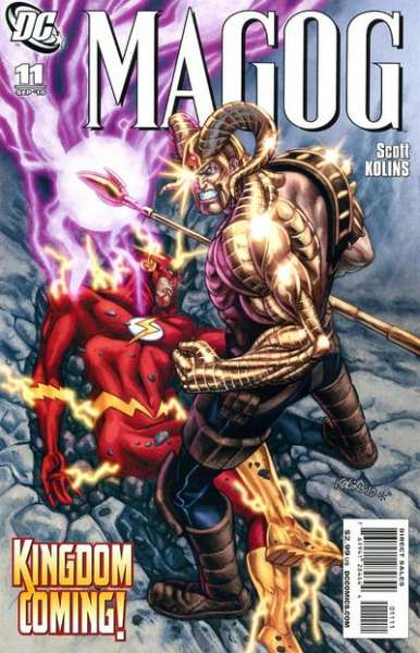 Magog #11 comic books - cover scans photos Magog #11 comic books - covers, picture gallery