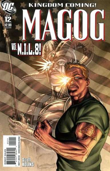 Magog #12 comic books - cover scans photos Magog #12 comic books - covers, picture gallery