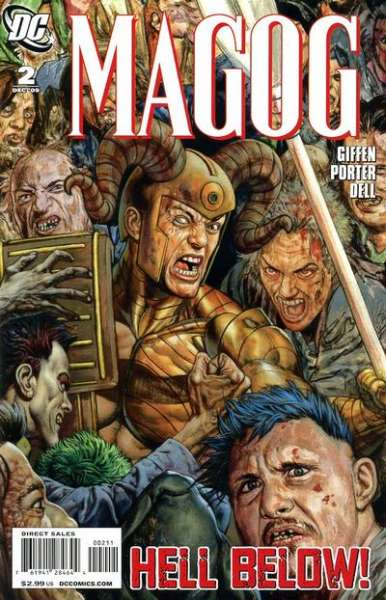 Magog #2 comic books - cover scans photos Magog #2 comic books - covers, picture gallery