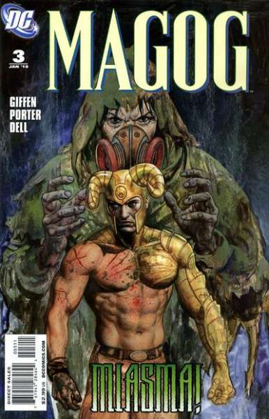 Magog #3 comic books - cover scans photos Magog #3 comic books - covers, picture gallery