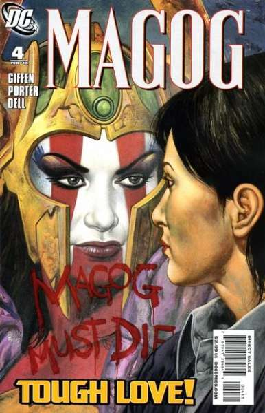 Magog #4 comic books - cover scans photos Magog #4 comic books - covers, picture gallery
