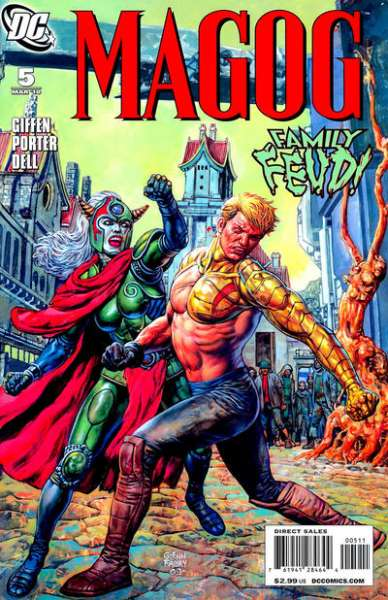 Magog #5 comic books - cover scans photos Magog #5 comic books - covers, picture gallery