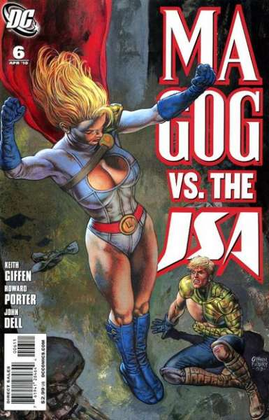 Magog #6 Comic Books - Covers, Scans, Photos  in Magog Comic Books - Covers, Scans, Gallery