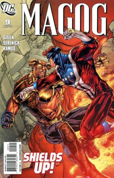 Magog #9 comic books - cover scans photos Magog #9 comic books - covers, picture gallery