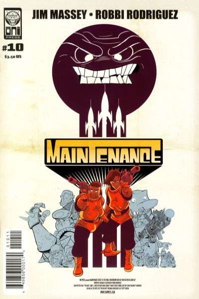 Maintenance #10 comic books - cover scans photos Maintenance #10 comic books - covers, picture gallery