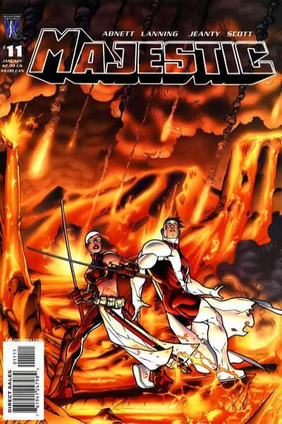 Majestic #11 Comic Books - Covers, Scans, Photos  in Majestic Comic Books - Covers, Scans, Gallery