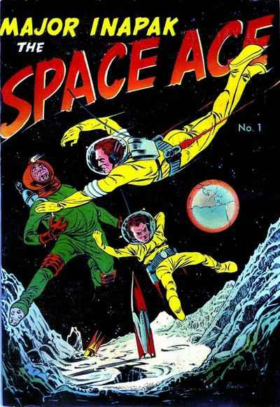 Major Inapak: The Space Ace comic books