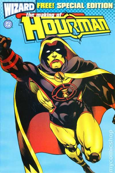 Making of Hourman #1 comic books - cover scans photos Making of Hourman #1 comic books - covers, picture gallery