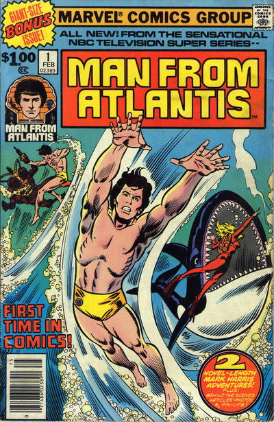 Man from Atlantis Comic Books. Man from Atlantis Comics.