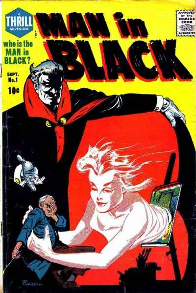 Man in Black comic books
