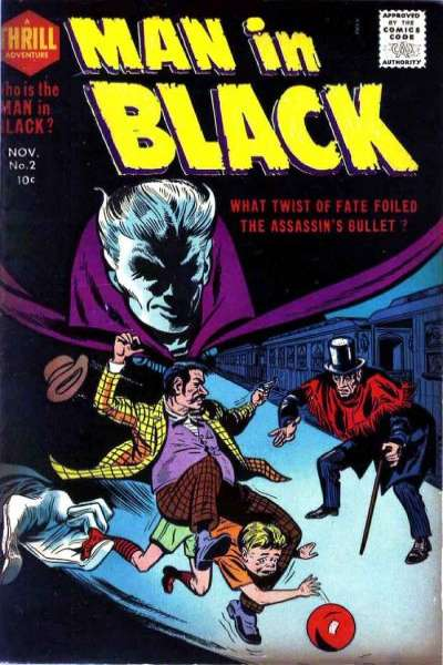 Man in Black #2 comic books for sale