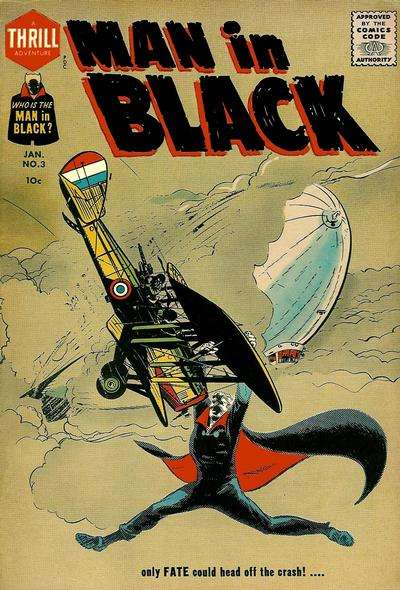 Man in Black #3 comic books for sale