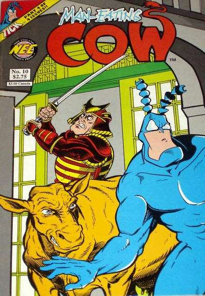 Man-Eating Cow #10 comic books for sale