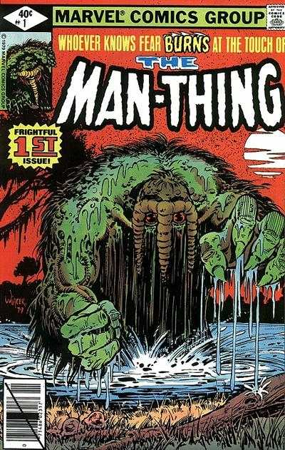 Man-Thing # comic book complete sets Man-Thing # comic books