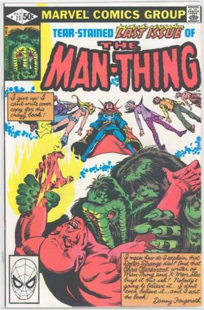 Man-Thing #11 Comic Books - Covers, Scans, Photos  in Man-Thing Comic Books - Covers, Scans, Gallery