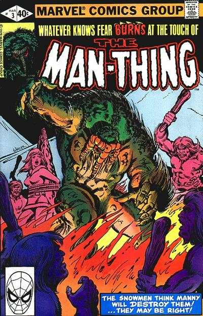 Man-Thing #3 comic books - cover scans photos Man-Thing #3 comic books - covers, picture gallery