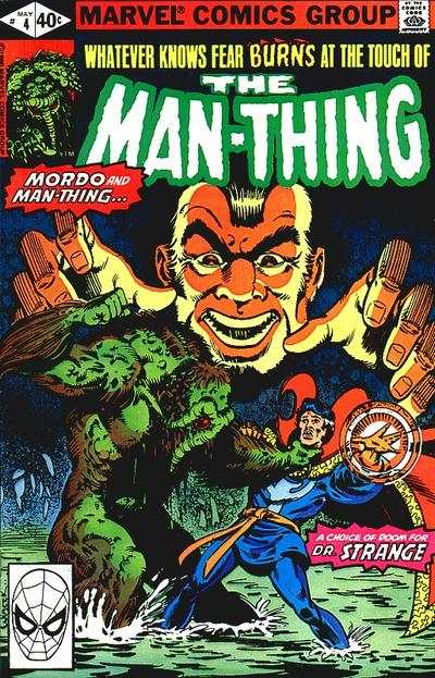 Man-Thing #4 comic books - cover scans photos Man-Thing #4 comic books - covers, picture gallery
