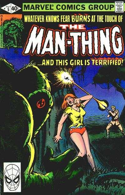 Man-Thing #5 comic books - cover scans photos Man-Thing #5 comic books - covers, picture gallery