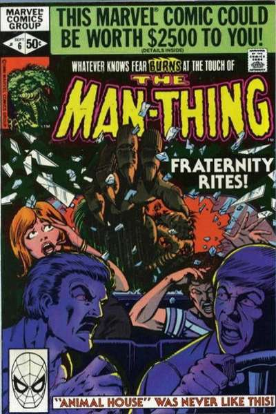 Man-Thing #6 Comic Books - Covers, Scans, Photos  in Man-Thing Comic Books - Covers, Scans, Gallery