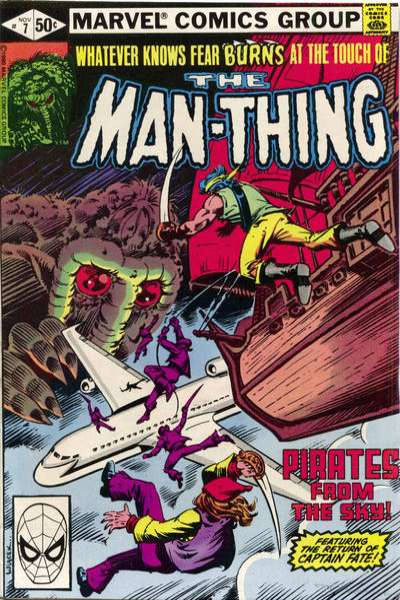 Man-Thing #7 Comic Books - Covers, Scans, Photos  in Man-Thing Comic Books - Covers, Scans, Gallery