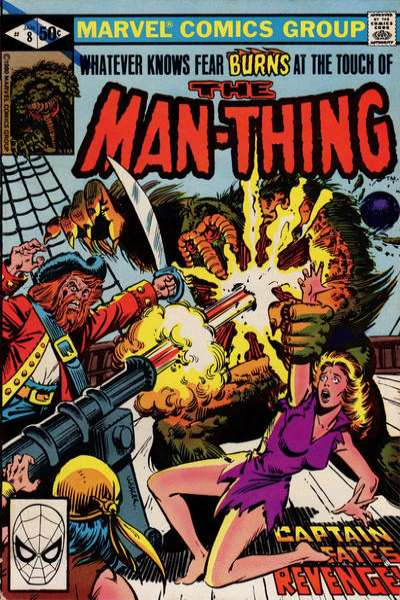Man-Thing #8 Comic Books - Covers, Scans, Photos  in Man-Thing Comic Books - Covers, Scans, Gallery