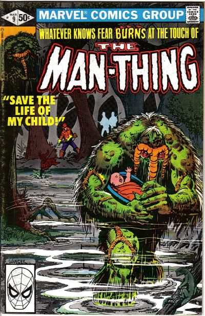 Man-Thing #9 Comic Books - Covers, Scans, Photos  in Man-Thing Comic Books - Covers, Scans, Gallery