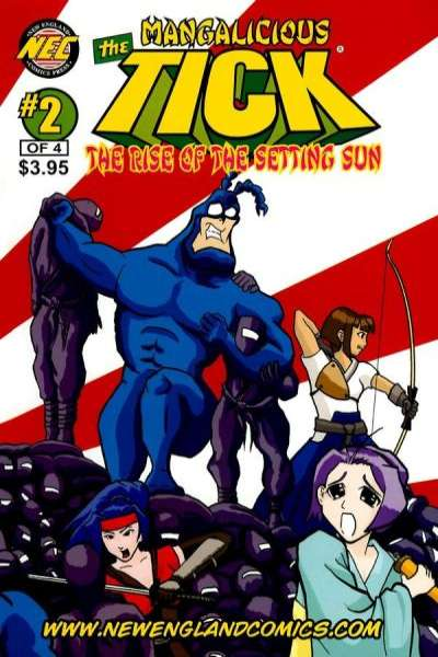 Mangalicious Tick: The Rise of the Setting Sun #2 comic books for sale