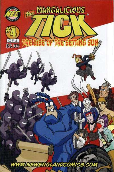 Mangalicious Tick: The Rise of the Setting Sun #4 comic books for sale