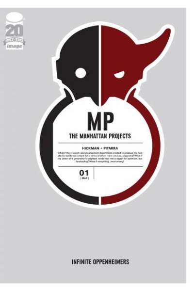 Manhattan Projects comic books