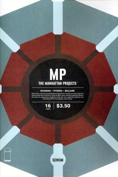 Manhattan Projects #16 comic books - cover scans photos Manhattan Projects #16 comic books - covers, picture gallery