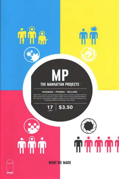 Manhattan Projects #17 comic books for sale