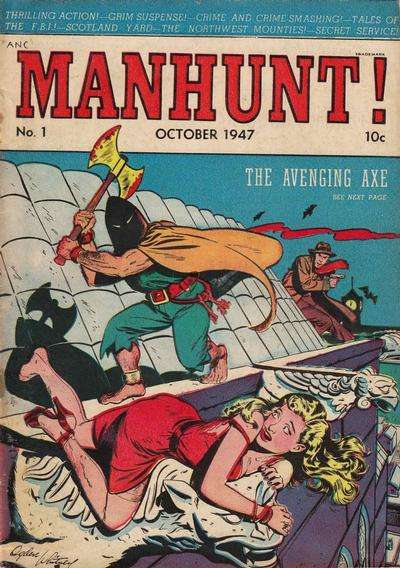 Manhunt comic books