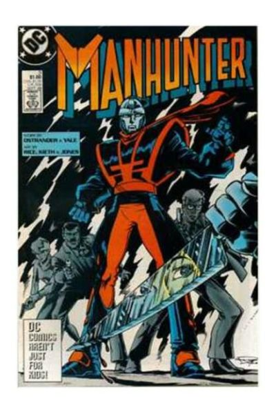 Manhunter #3 Comic Books - Covers, Scans, Photos  in Manhunter Comic Books - Covers, Scans, Gallery