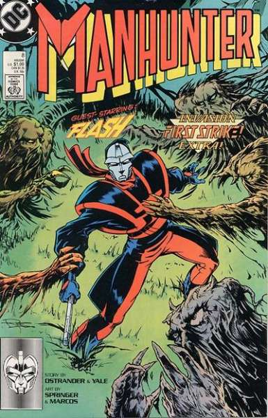 Manhunter #8 comic books for sale