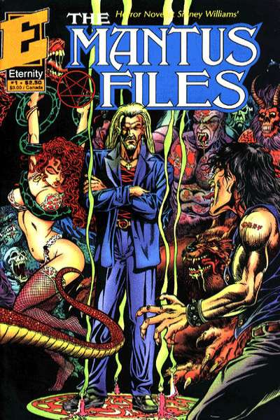 Mantus Files comic books