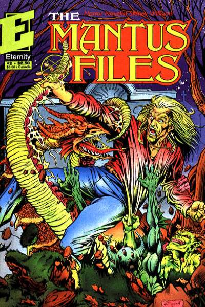 Mantus Files #2 comic books - cover scans photos Mantus Files #2 comic books - covers, picture gallery