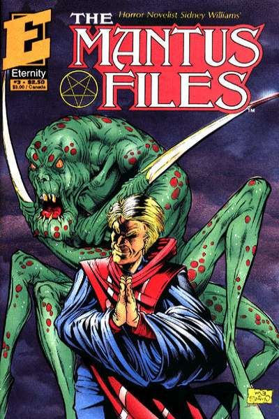 Mantus Files #3 comic books - cover scans photos Mantus Files #3 comic books - covers, picture gallery