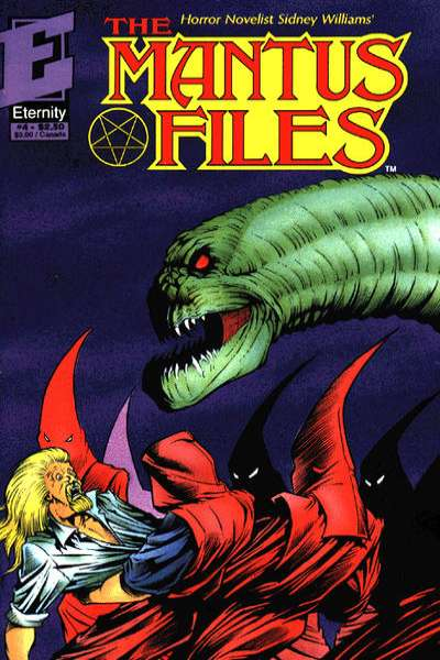 Mantus Files #4 Comic Books - Covers, Scans, Photos  in Mantus Files Comic Books - Covers, Scans, Gallery
