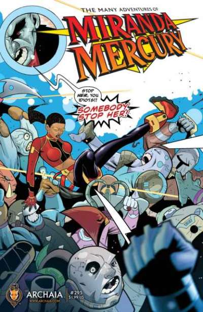 Many Adventures of Miranda Mercury comic books