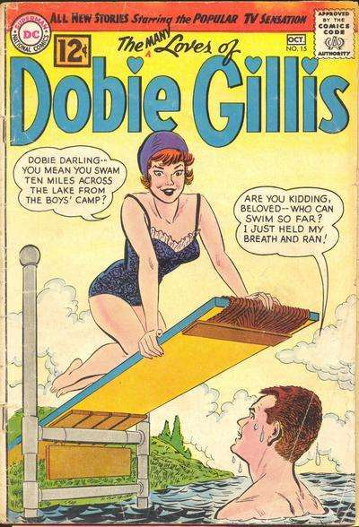 Many Loves of Dobie Gillis #15 comic books - cover scans photos Many Loves of Dobie Gillis #15 comic books - covers, picture gallery