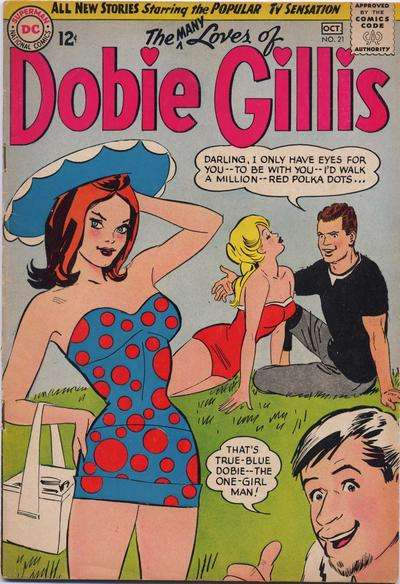 Many Loves of Dobie Gillis #21 comic books for sale