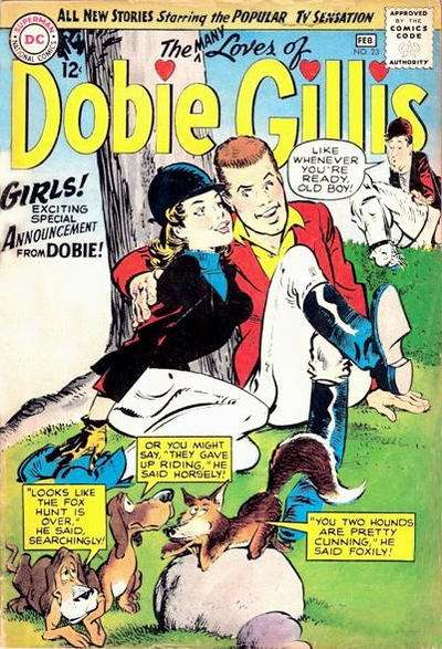 Many Loves of Dobie Gillis #23 Comic Books - Covers, Scans, Photos  in Many Loves of Dobie Gillis Comic Books - Covers, Scans, Gallery