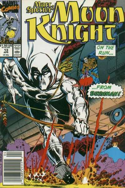 Marc Spector: Moon Knight #13 Comic Books - Covers, Scans, Photos  in Marc Spector: Moon Knight Comic Books - Covers, Scans, Gallery