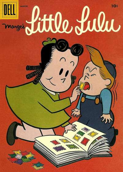 Marge's Little Lulu #105 comic books - cover scans photos Marge's Little Lulu #105 comic books - covers, picture gallery