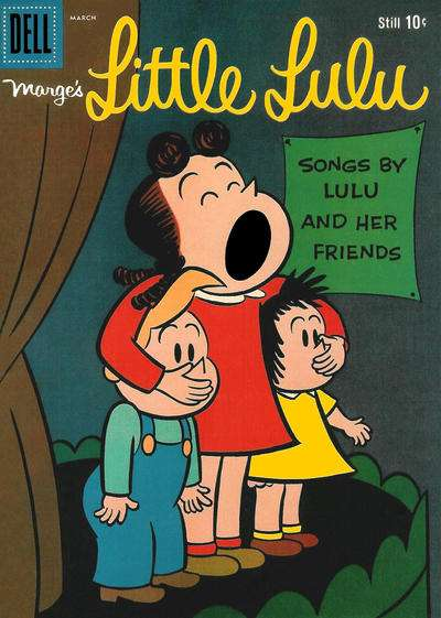 Marge's Little Lulu #129 comic books - cover scans photos Marge's Little Lulu #129 comic books - covers, picture gallery