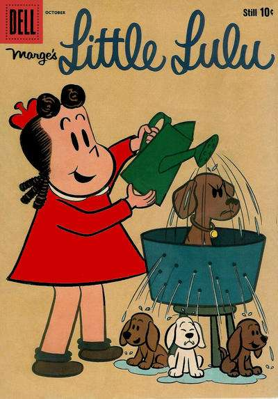 Marge's Little Lulu #136 comic books - cover scans photos Marge's Little Lulu #136 comic books - covers, picture gallery