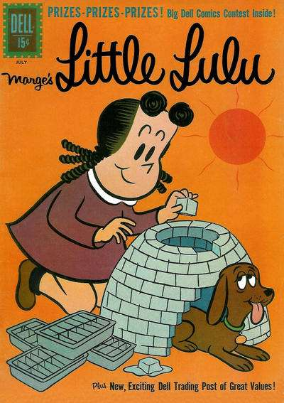Marge's Little Lulu #157 comic books - cover scans photos Marge's Little Lulu #157 comic books - covers, picture gallery