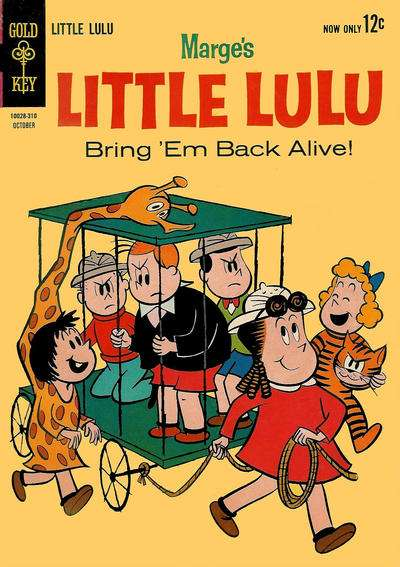 Marge's Little Lulu #169 Comic Books - Covers, Scans, Photos  in Marge's Little Lulu Comic Books - Covers, Scans, Gallery